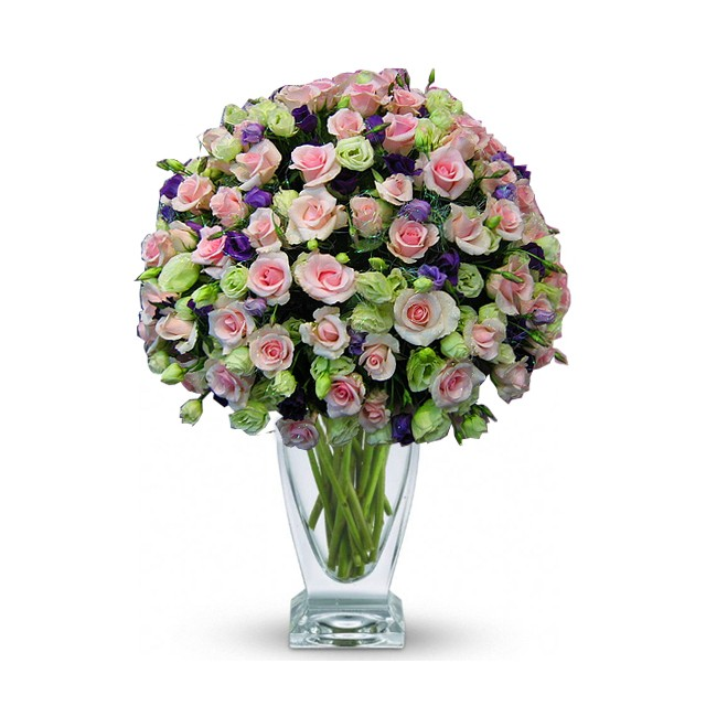 36 Pink Rose Bouquet