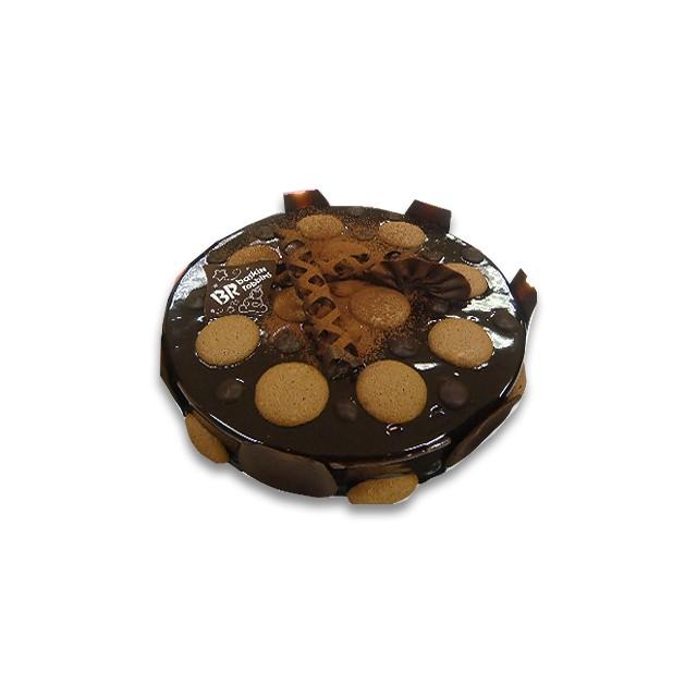 Choco Almonde Ice Cream Cake