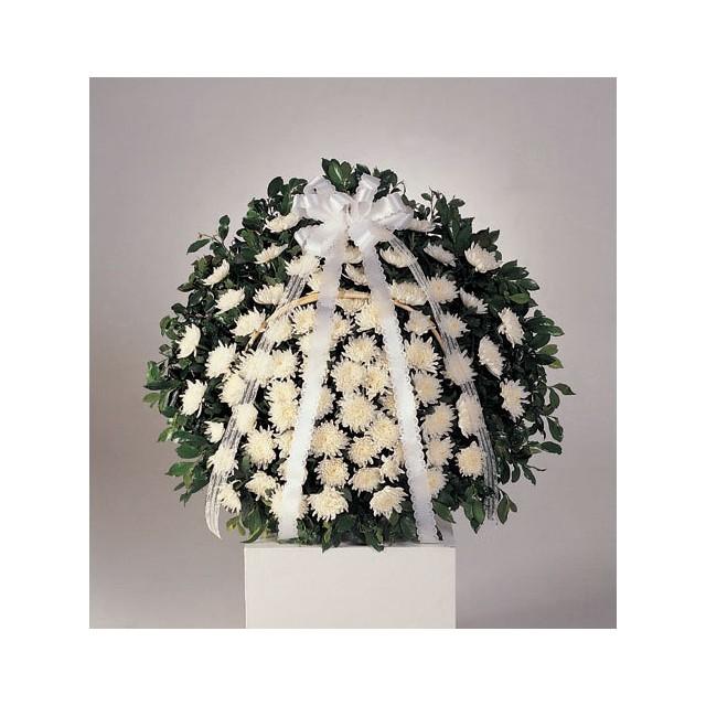 Condolence White Chrysanths