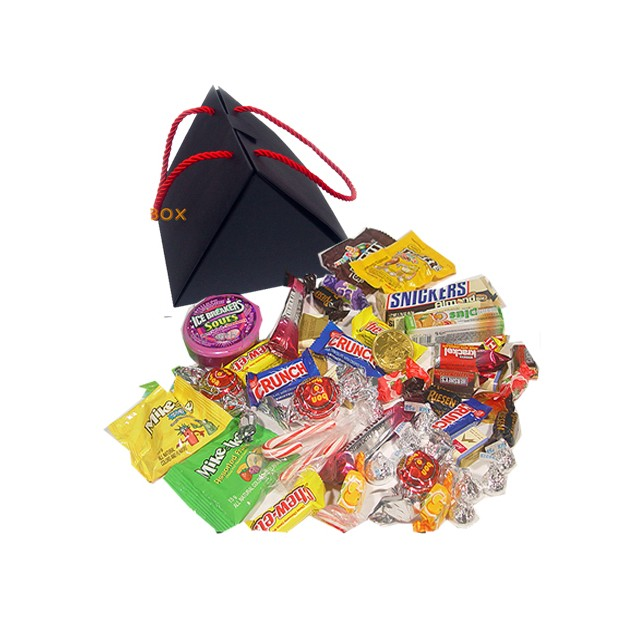 Chocolates and snacks in Box