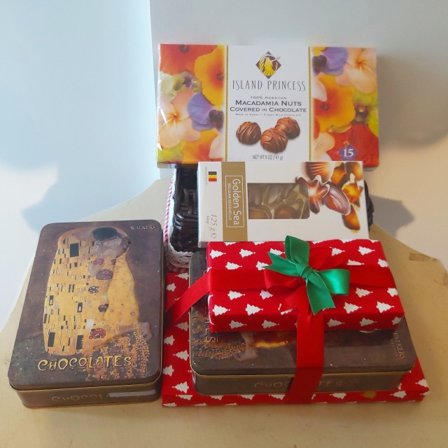 Travel to Hawaii England Belgium with Chocolate
