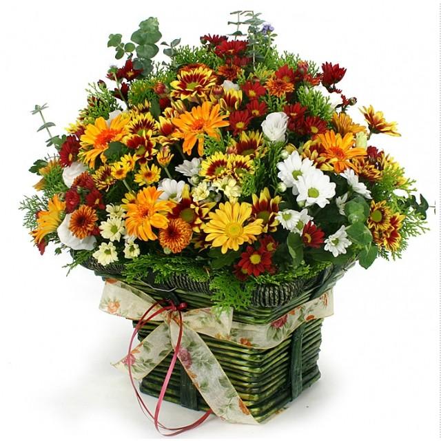 Golden Autumn Flower for you