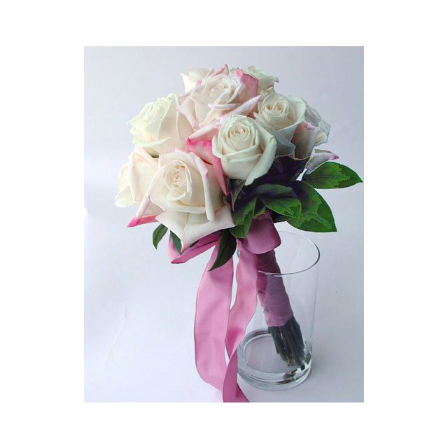 Glace White Roses