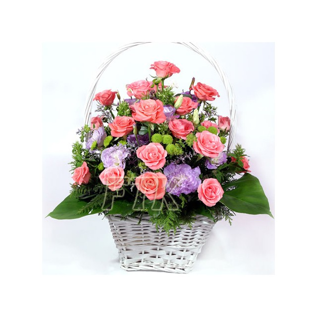 Love and Respect Flower Basket