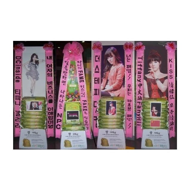 Fan's Stand Spray with Rice Donation 10kg
