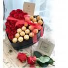 Ferrero rocher Rose Box