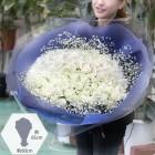 100 White Rose Kisses