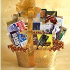 Golden Love Gift Basket