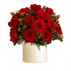 12 Rose Posy